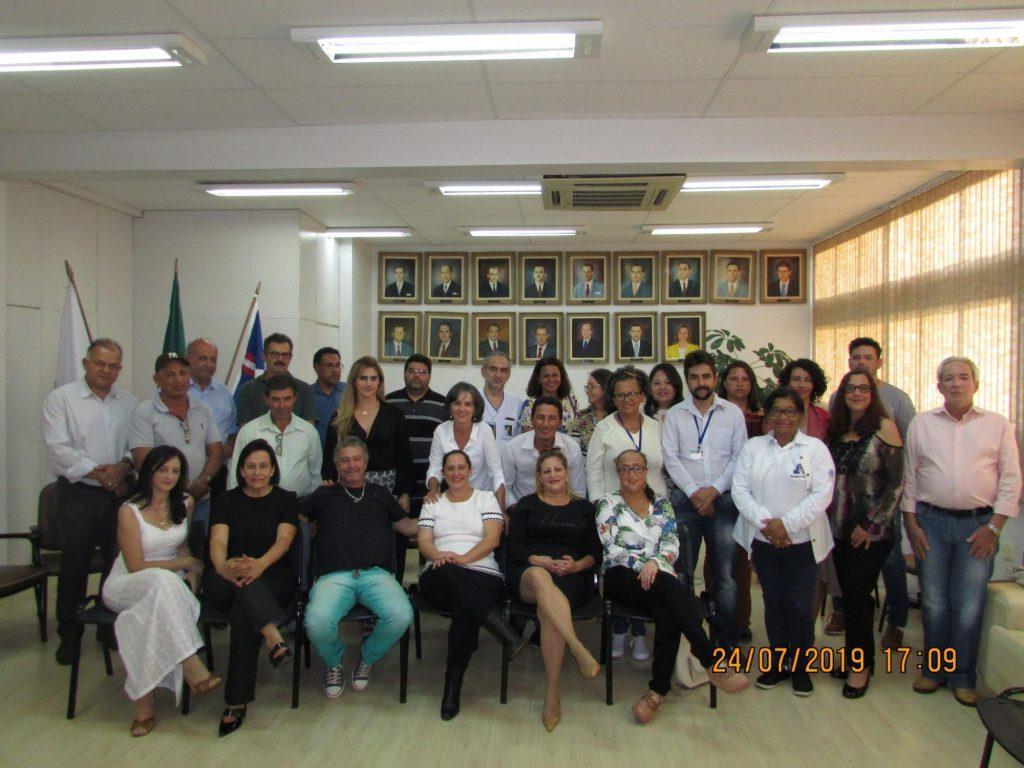 Conselho Municipal de Saúde é empossado em Patos de Minas