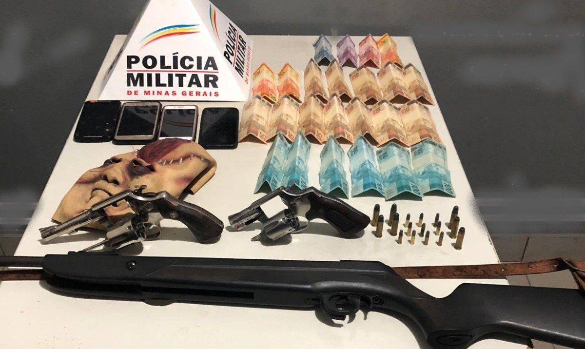 Roubo e sequestro termina com dois suspeitos mortos em Vazante-MG