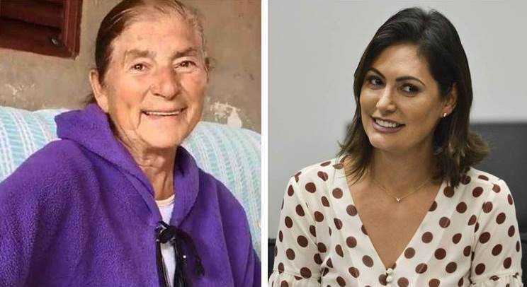 Avó de Michelle Bolsonaro fica em corredor de hospital e diz ela [se] afastou de mim