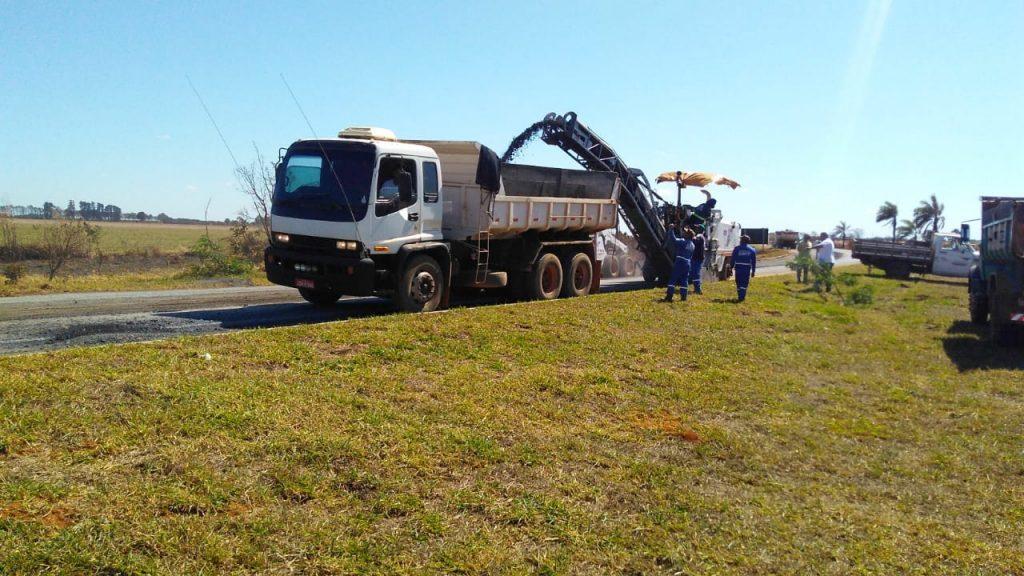 BR-354 Obras de recuperação são iniciadas nesta segunda-feira
