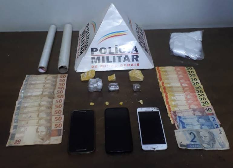 Drogas são apreendidas e três suspeitos são presos em Patrocínio