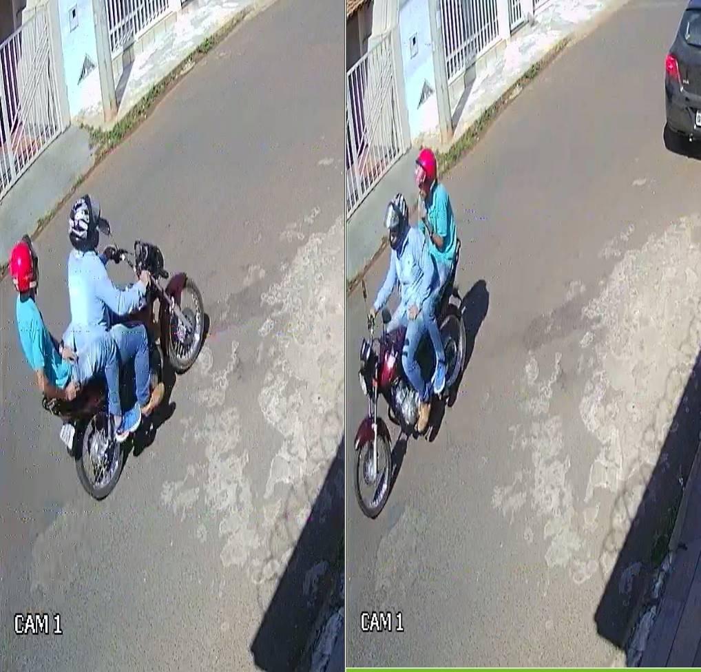 PM de Monte Carmelo divulga fotos de supostos autores de tentativa de homicídio