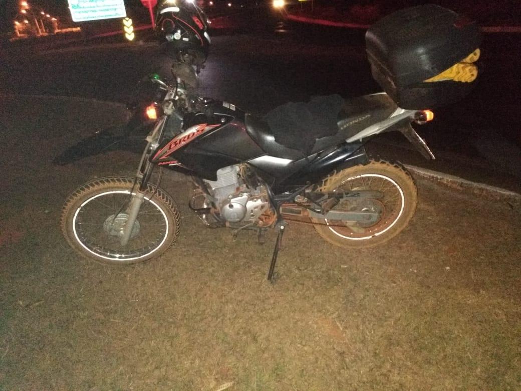 Criança é atropelada por moto na BR-354