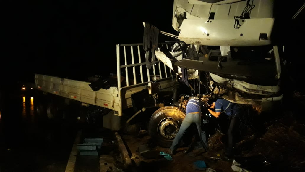 Acidente fatal na MG-410 em Presidente Olegário