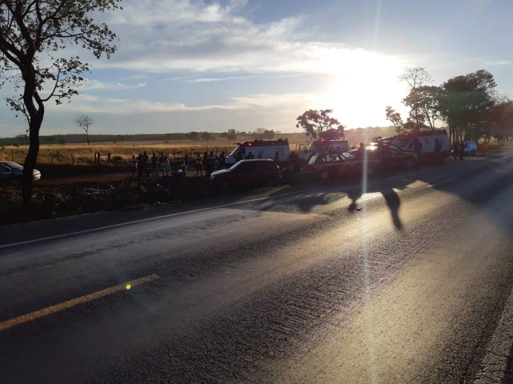 BR 365 Quatro pessoas morrem em acidente