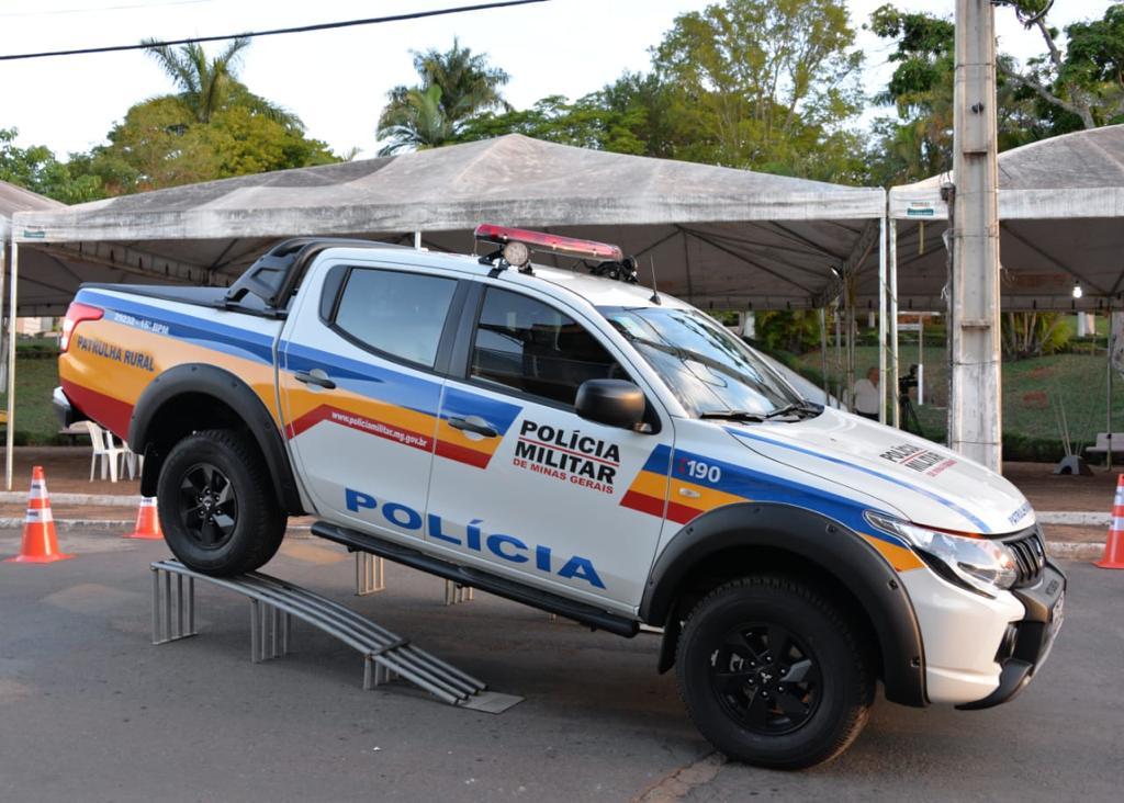 PM de Matutina recebe nova viatura para patrulhamento rural
