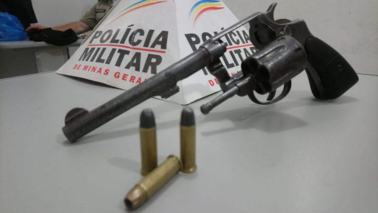 Adolescente é apreendido com revólver em Guarda dos Ferreiros