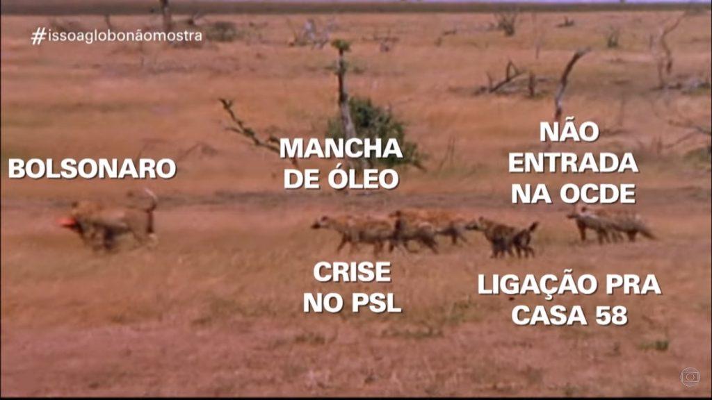 Hienas Bolsonaro Isso a Globo Não Mostra