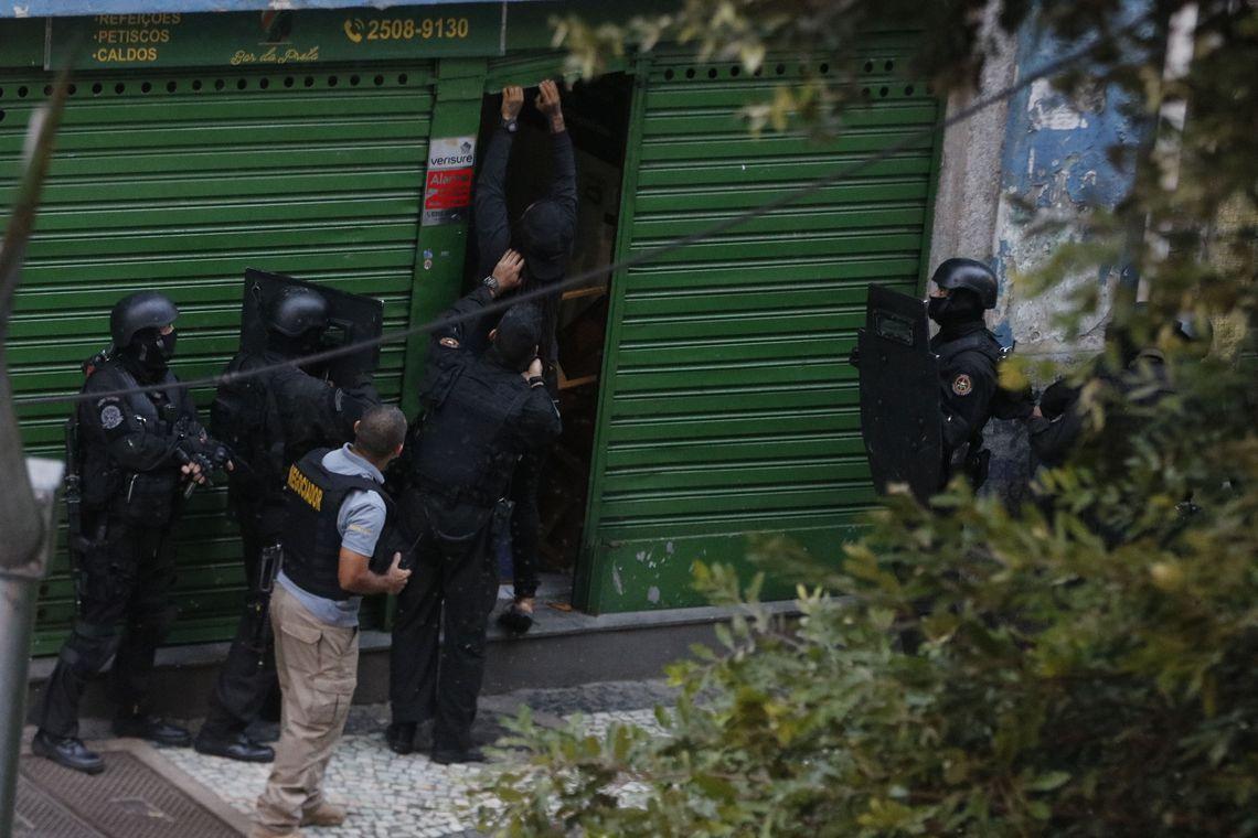 sequestro no Rio de Janeiro