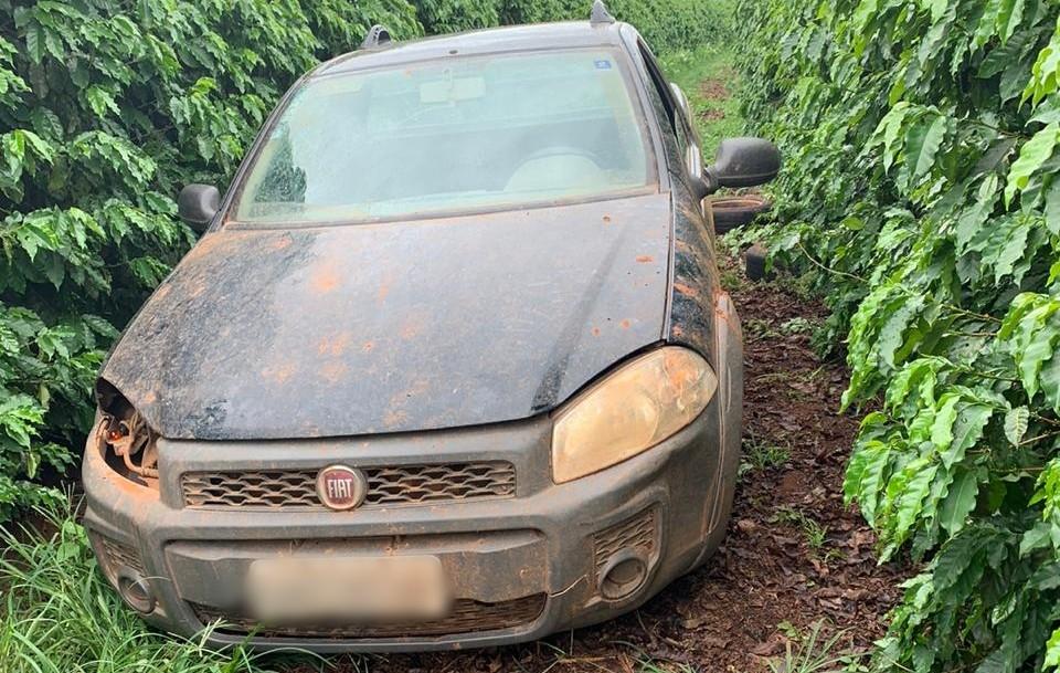 PM de Monte Carmelo recupera veículo roubado
