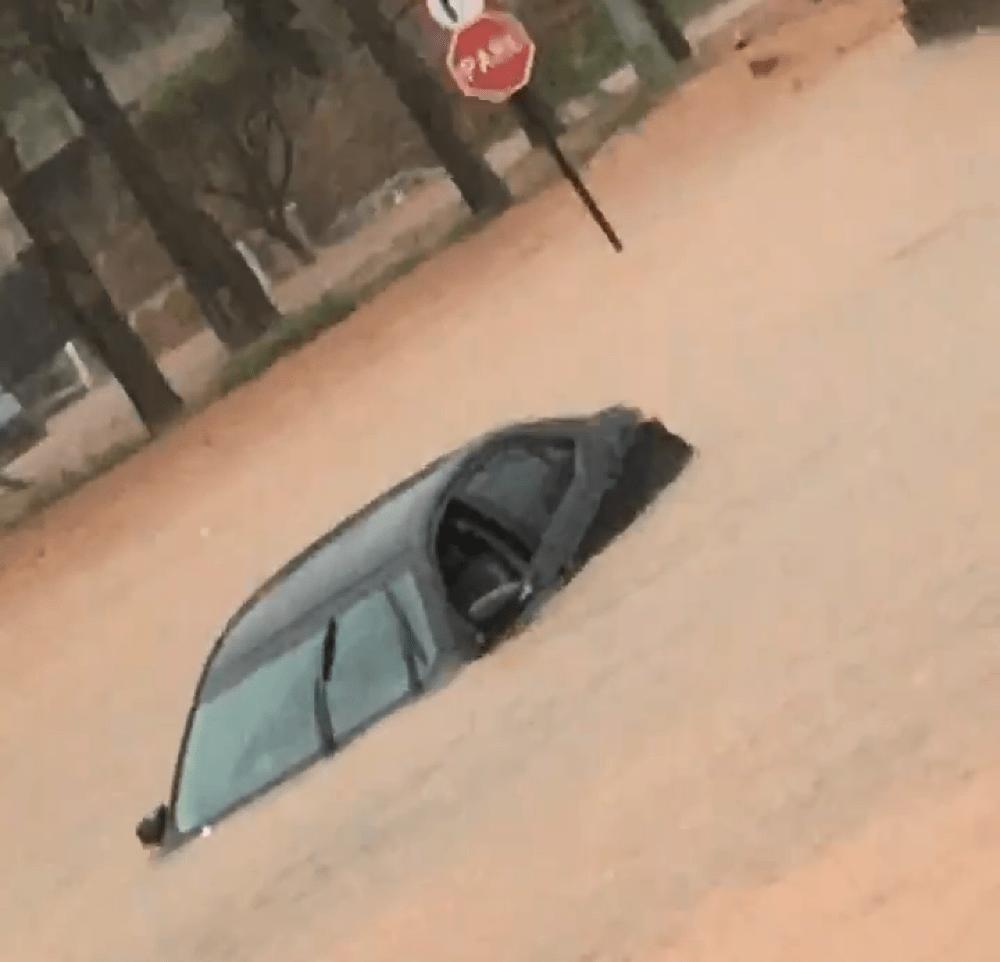 Chuva em Patos de Minas