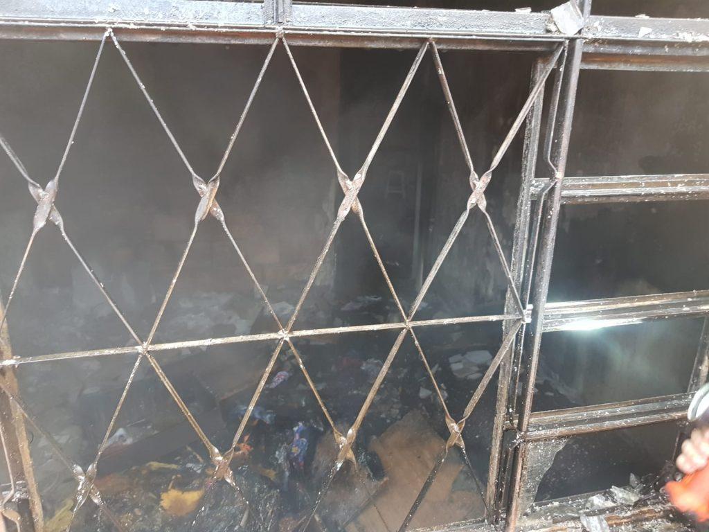 Incêndio atinge imóvel em Uberlândia