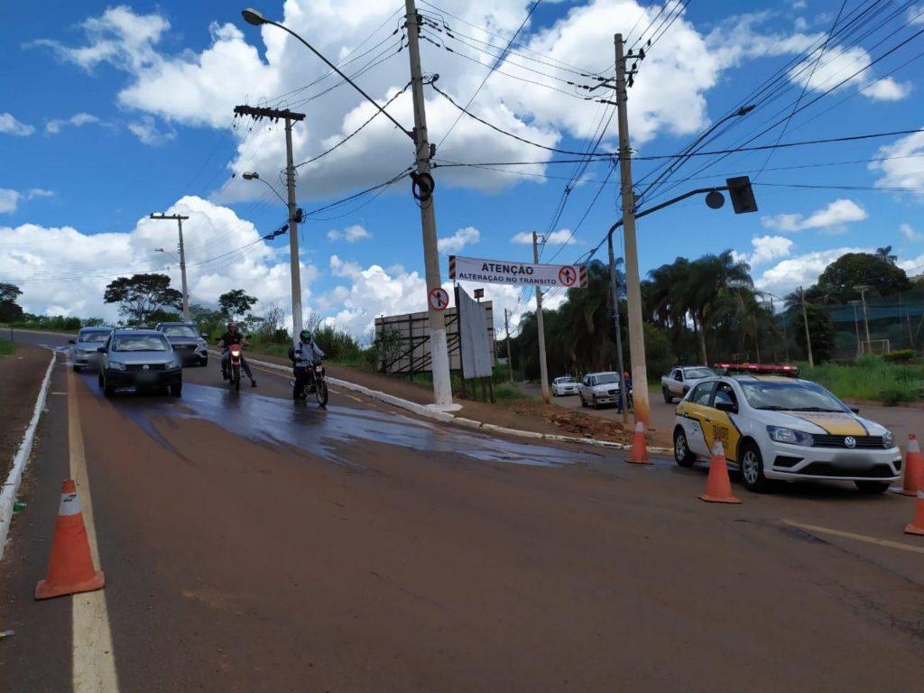 Trânsito - Rua Guaraci - Patos de Minas