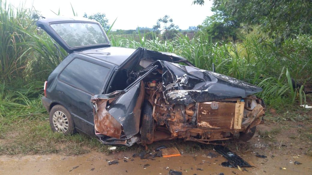 Acidente BR 354 em Carmo do Paranaíba