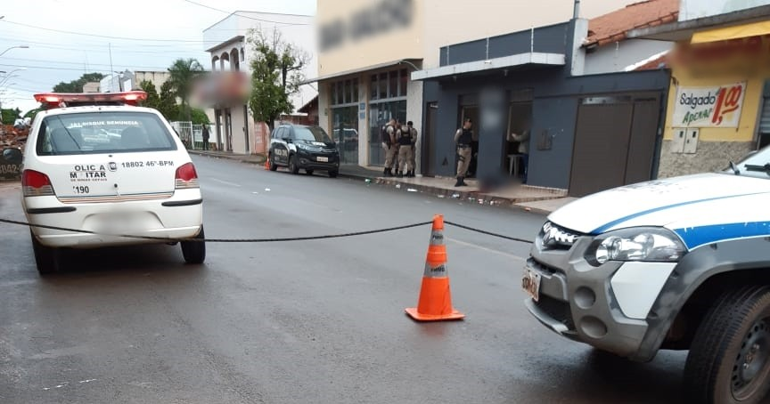 Homicídio em Monte Carmelo