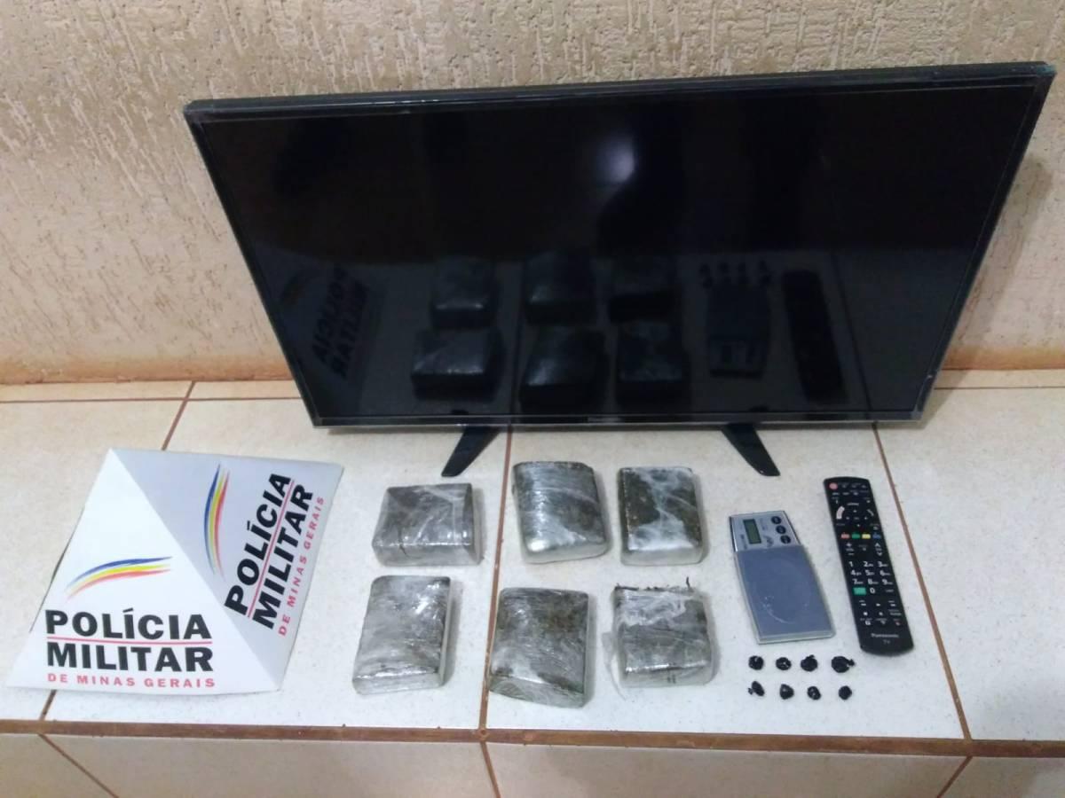Furto e Tráfico de Drogas em Monte Carmelo
