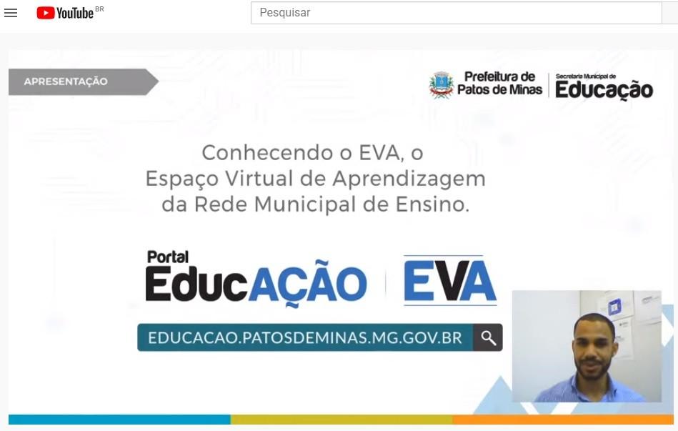 EVA (Espaço Virtual de Apreendizagem) - Patos de Minas