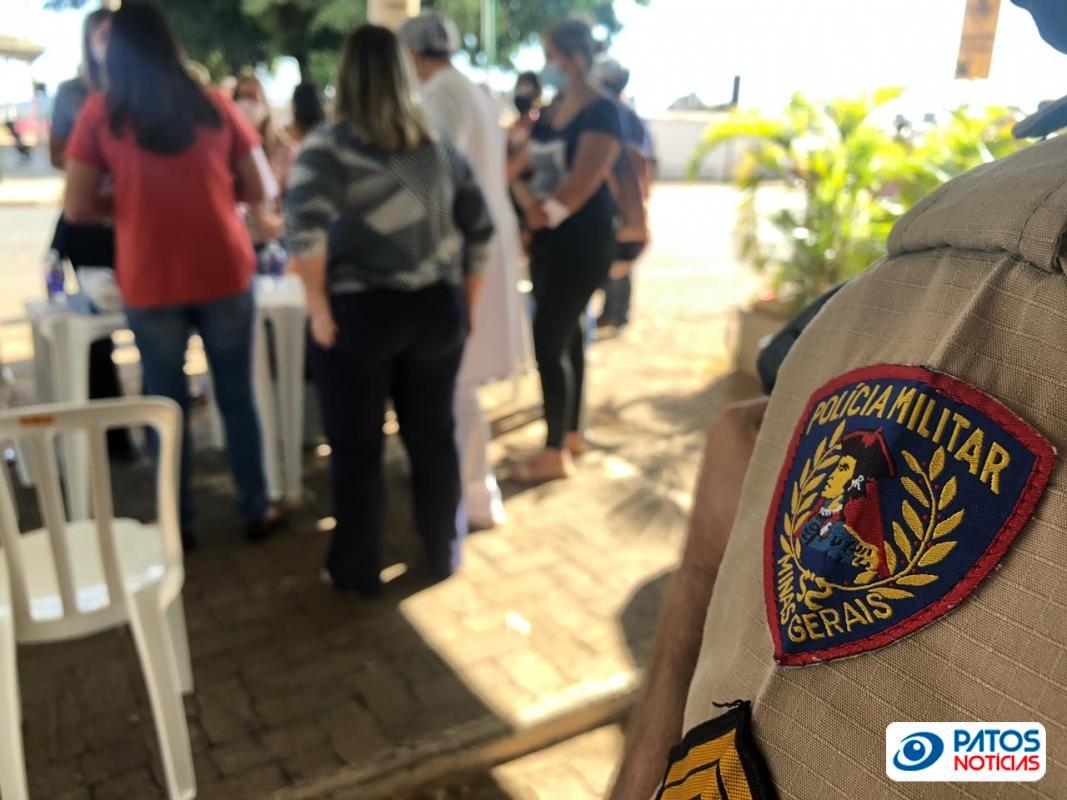 Polícia - antigo projeto saci - vacinação - patos de minas