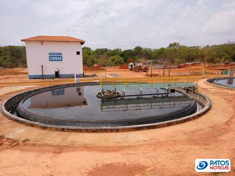 COPASA - tratamento de esgoto - Patos de Minas