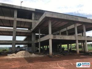 Obras do Campus da UFU em Patos de Minas
