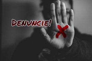 SInal vermelho - violência contra a mulher