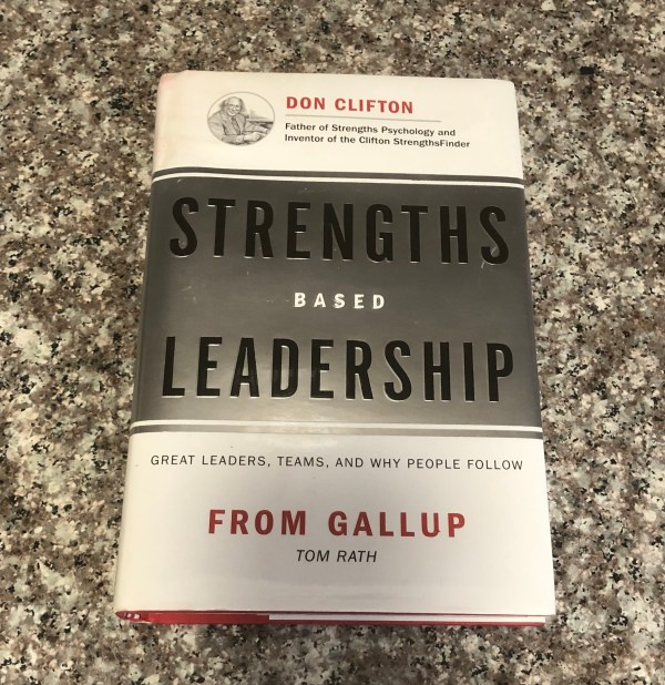 hardcover book: strengths-based leadership