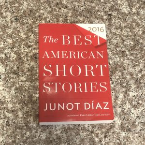paperback book: the best american short stories