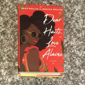 hardcover YA fiction: dear haiti, love alaine