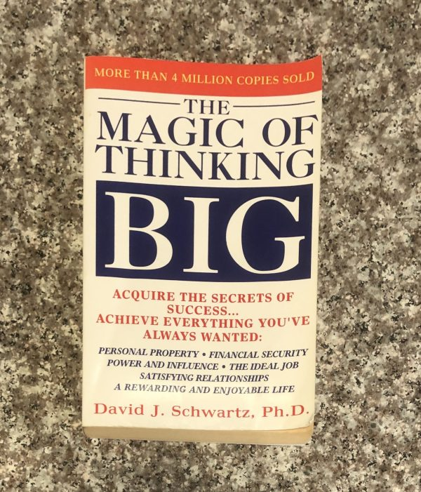 paperback book: the magic of thinking book