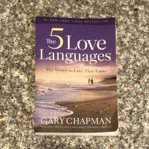 paperback book: the 5 love languages