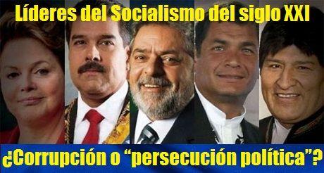 Resultado de imagen para corrupcion socialismo del siglo XXI