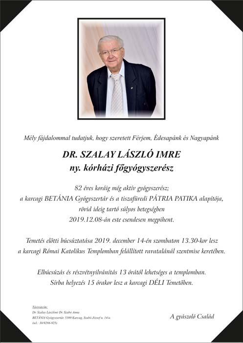 gyaszjelentés-Dr-Szalay-László-Imre