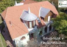 Pátria Patika drón felvétel