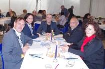 Repas de Gala avec Thierry Hory Maire de Marly et Michel Lissmann 1er adjoint