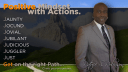 ABC's Of Positive Mindset With Actions - J