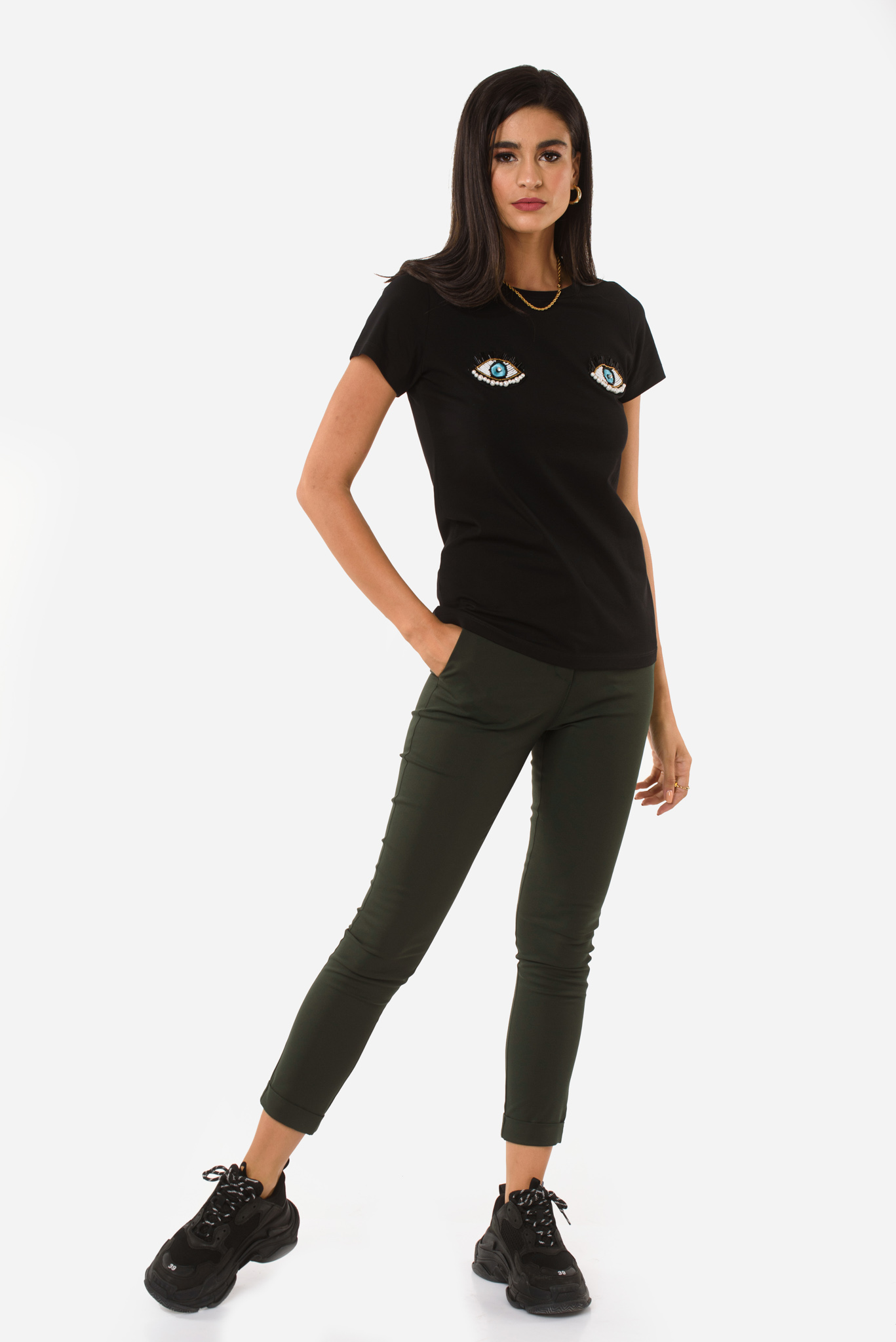 Chiara T-Shirt in Black