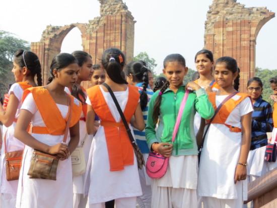 #beautiful girls in India # school girls