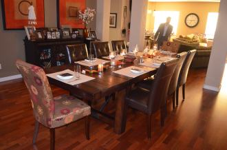 Ross & Daradee's dining room.