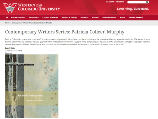 Contemporary Writers Series