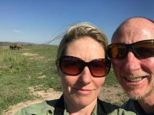 Rhino selfie.