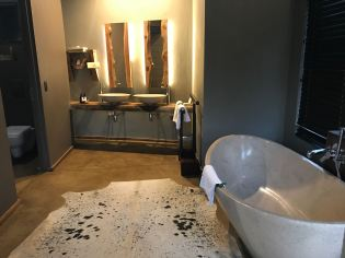 What a beautiful bathroom.
