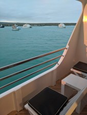 Here is our private balcony.