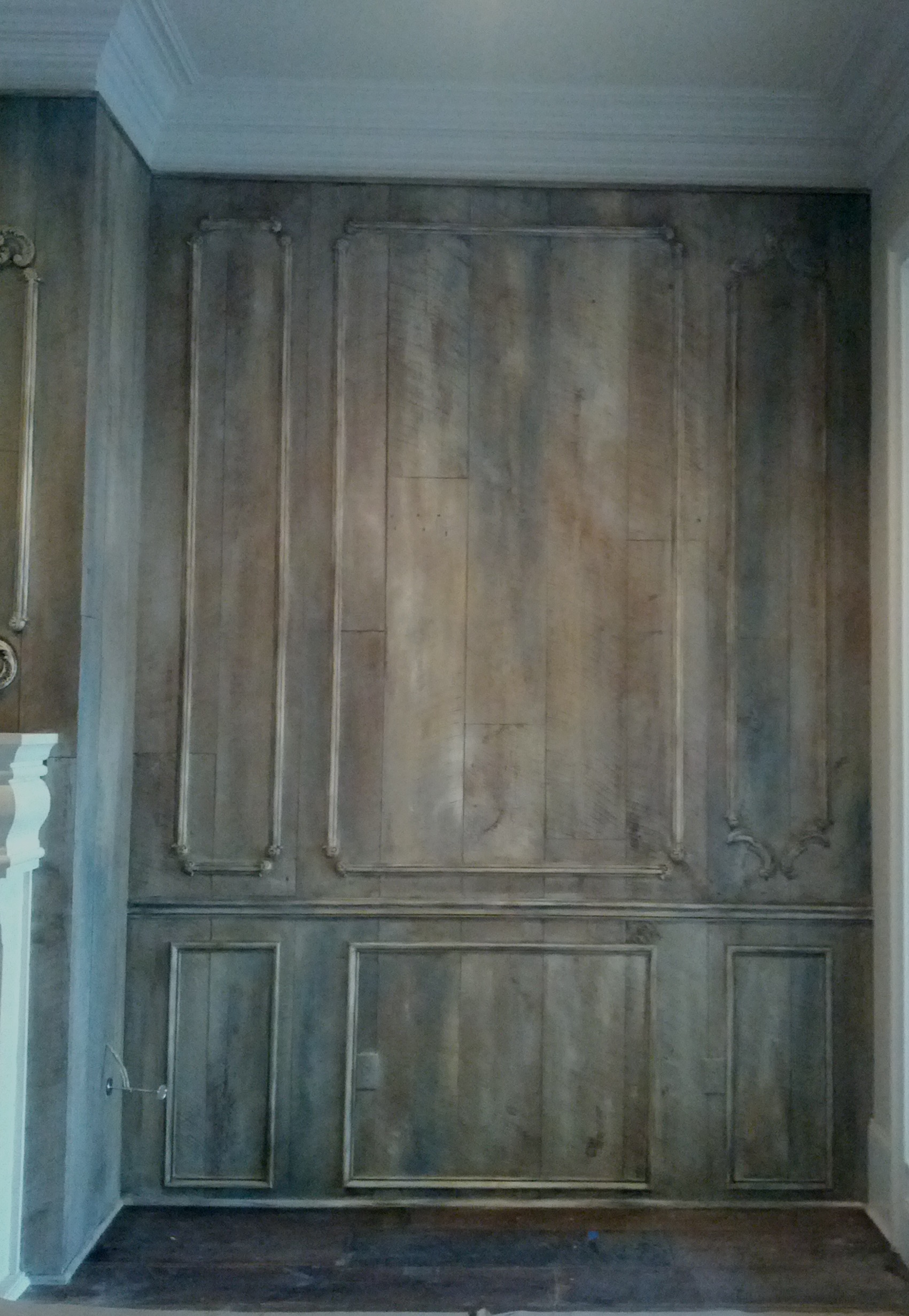 Boiserie Aged With AS Chalk Paint Patricia Delaney