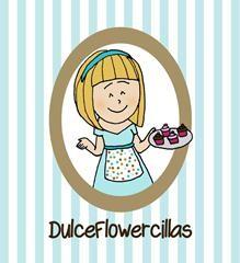 Logotipo Blog de repostería DulceFlowercillas