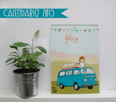 Calendario 'PatriDubre' 2015