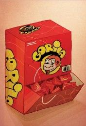 Caderneta de Cromos - Pastilhas Gorila