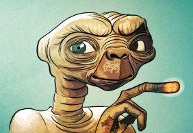 Caderneta de Cromos Contra Ataca - E.T.