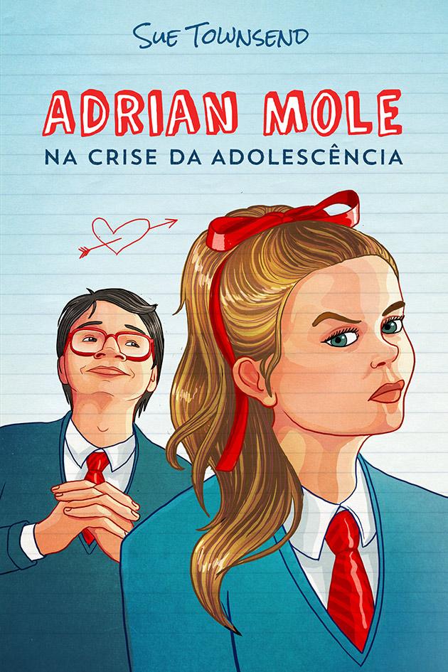 Adrian Mole na crise da adolescência
