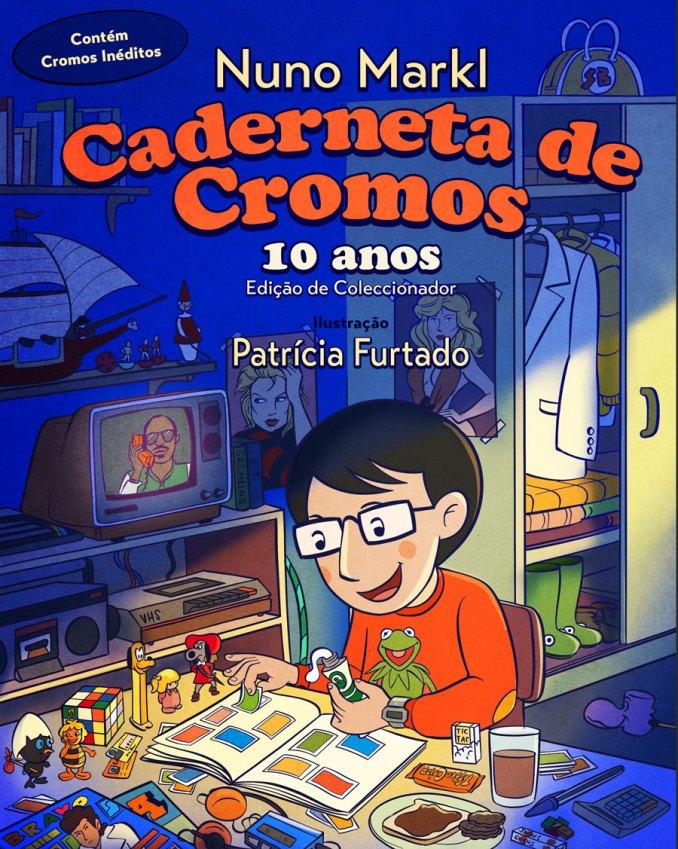Caderneta de Cromos - 10 Anos Edição de coleccionador