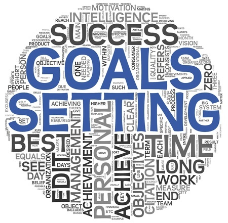 setting goals word snowflake 13043317_s